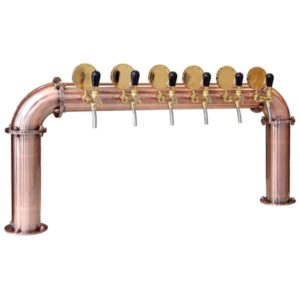 BDT-BR6V Beverage dispense tower Bridge 6-valves
