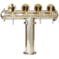 BDT-CT4V Beverage dispense tower Classic-T 4-valves