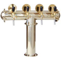 BDT-CT4V Beverage dispense tower Classic-T 4-valves
