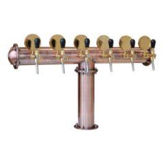 BDT-CT6V Beverage dispense tower Classic-T 6-valves