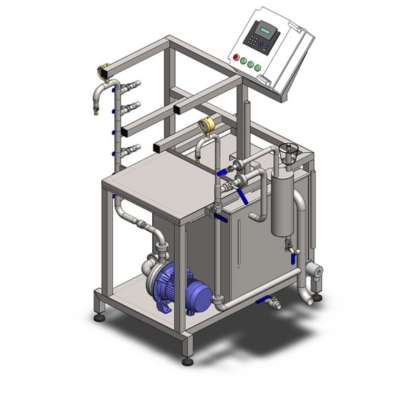 kcm 10 600 03 - FUIC-SLP2C-2x600CCT Compact fermentation unit 2×600/625 liters 1.2 bar - cmuslp, mfuslp, cctmslp, fuicslp, hft