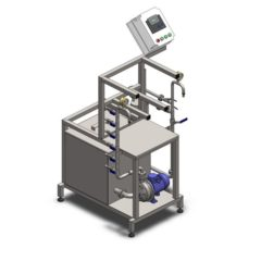 KCM-10 Machine for the manual rinsing and filling of stainless steel kegs 7-10 kegs/hour