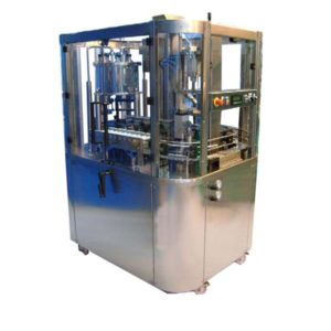 BFA-MB1000 Automatic bottling machine:  rinsing + filling + capping of bottles