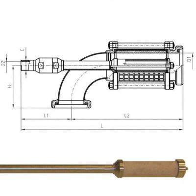 CSC : Carbonization equipment