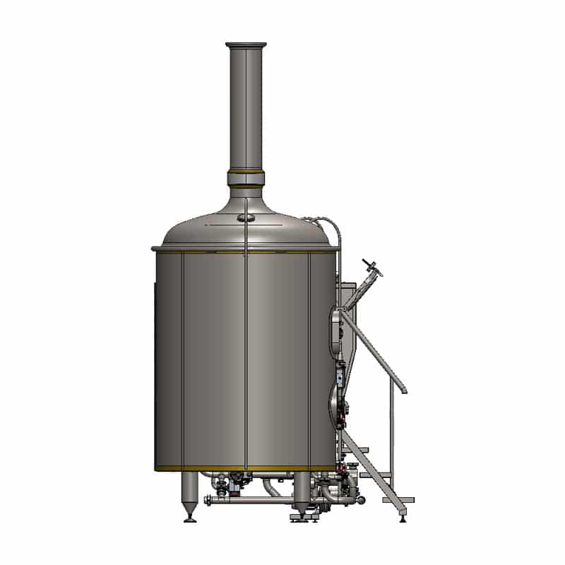 brewhouse breworx classic 2000 - left view