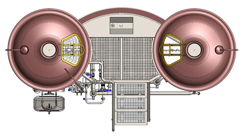 Brewhouse Breworx Classic 600 - top view
