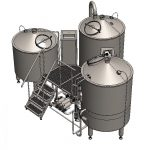 brewhouse breworx tritank 1000cd 002 150x150 - Microbrewery BREWORX COMPACT 3001A-2250