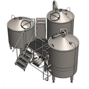 brewhouse breworx tritank 1000cd 002 300x300 - BBH   Brewhouses - the wort brew machines