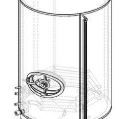 هوت-شنومكس الساخن خزان المياه شنومكس لتر
