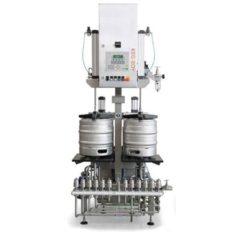 KWF-35 Машина за автоматично изплакване и пълнене на бурета 25-35 бурета / час