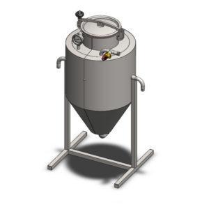 YSTP4G - Tlaková nádoba na kvasnice 40 litrů