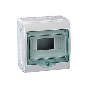 SWB-KA-12 Caja de cuadro de pared plástico 12-posiciones IP-65