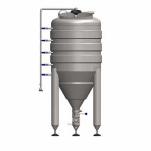 YSTP32G - Tlaková nádoba na kvasnice 320 litrů