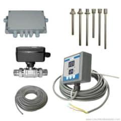 TTMMCS-22AS Tankhőmérséklet kézi mérő és szabályozó rendszer 22 tartályokhoz