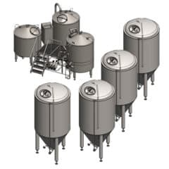 Microbrewery BREWORX COMPACT 3002M-9000