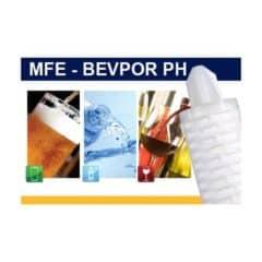 MFE-BEPH Microfiltration element Bevpor PH