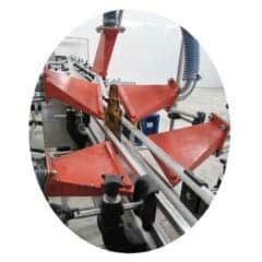 ABBC-01 Air blower for bottle conveyors