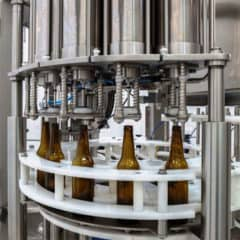 BFL-MB1200 Automatic bottle filling line – up to 1200 bph
