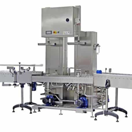 Keg washing and filling line