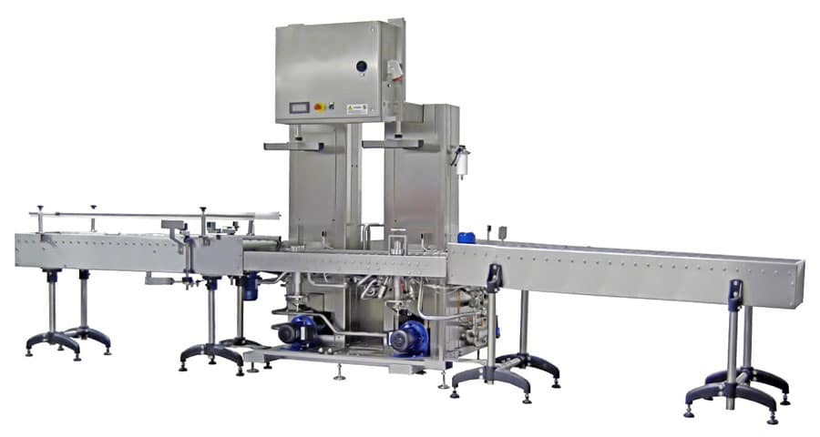 Keg washing and filling line KWFL-32