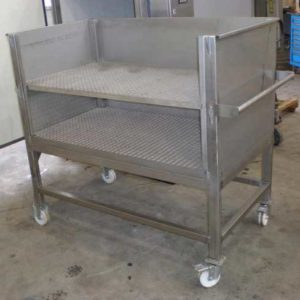 BTPCH-360 Bottle trolley for the PCH-360 pasteurizer