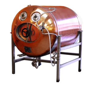 DBTHI - Bierbehälter, waagerecht, isoliert