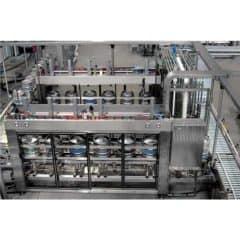 KWFL-MB41A Automatic keg rinsing-washing-filling line