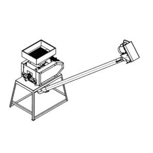 SCR-RED Reductor - Přizpůsobení šnekového dopravníku konkrétnímu drtiči sladu