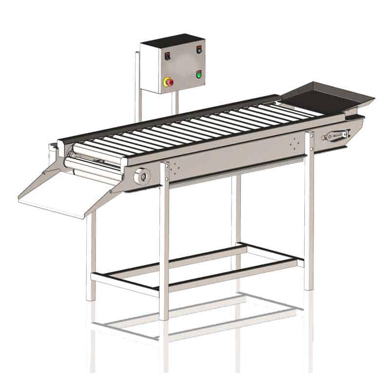 FSC-3000 Fruit sorting conveyor 3000 kg/hr