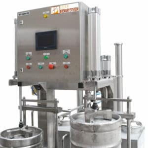 KWR 30 01 300x300 - KWR-30 Machine for the automatic rinsing and filling of kegs : 25 up to 35 kegs/hour