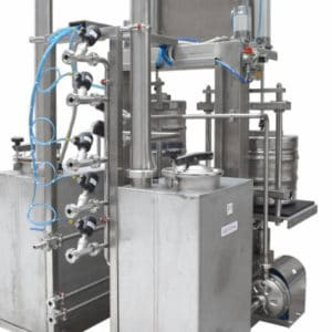 KWR 30 02 300x300 - KWR-30 Machine for the automatic rinsing and filling of kegs : 25 up to 35 kegs/hour