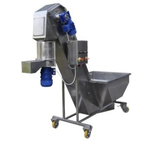 FWDC-1000 Fruit washer-dryer-crusher 1000 kg/hour