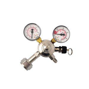 Recuction valve for CO2 bottles