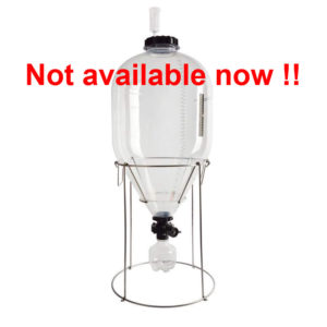 PCF-35SK : Fermentasaurus SK 35L starter kit : PET conical fermenter tank 35 liters 2.4 bar