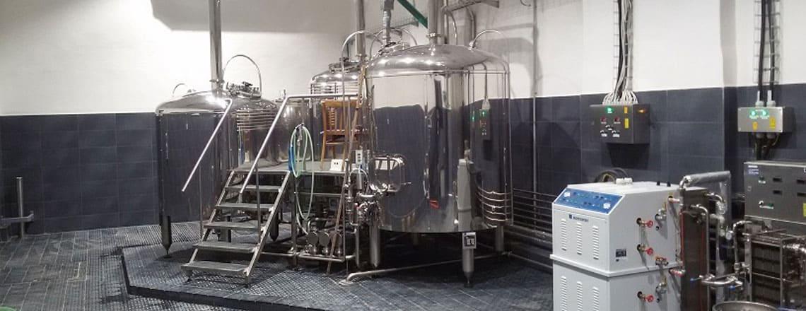 BREWORX TRITANK brewhouse - the industrial wort brew machine