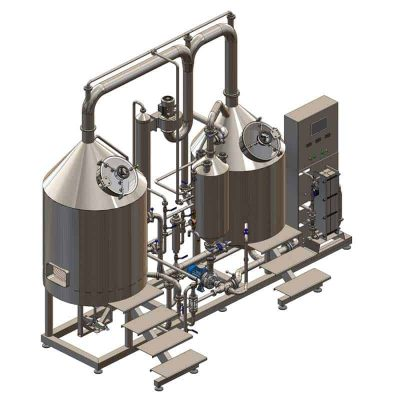 Breworx Classic-Eco wort brew machine - brewhouse