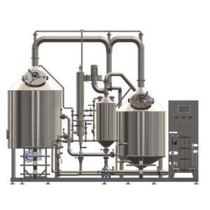 Pivovar BREWORX CLASSIC-ECO 300 - čelní pohled