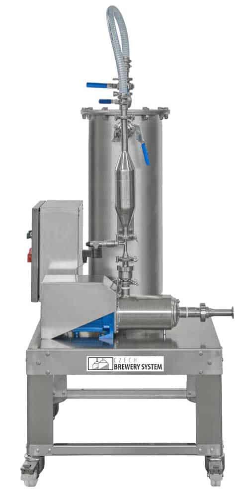Flow-through carbonizer for beer, cider, wine, soft drinks