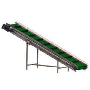 FRBC-1400: Belt færibönd ávaxta leifa 1400 kg / klst