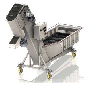 FWDC 1000B Fruit washer brusher dryer rinser 01 300x300 - FWC | Fruit washers and crushers | Cider production