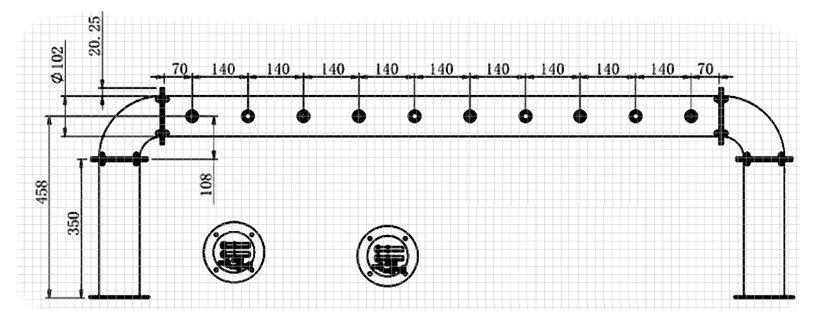 BDT-BR10V dimensions