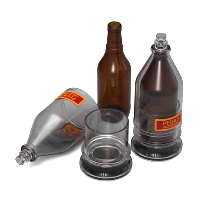 PBC-01 PEGAS BEERCASE Adapter to filling beer into glass bottles for all PEGAS valves