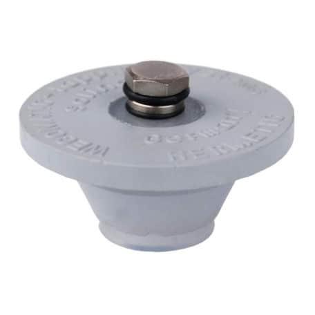 KEG-5LA-PRV: Gumová zátka s přetlakovým ventilem pro minikeg 5 l