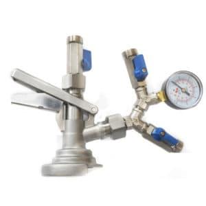 KFM-02: Isobarický dvojitý ventil na plnění piva do kegů a petainerů