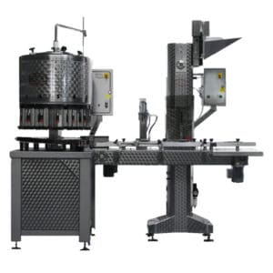 BFL-KT2000 : Automatic bottling line for the filling + capping of bottles