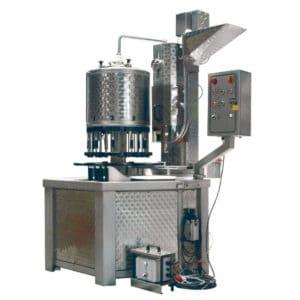 BFM-KT1600C: automatinis kompaktiškas butelių išpilstymo aparatas buteliams pripildyti ir uždengti (iki 1600 bph)