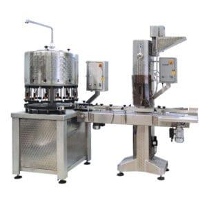 BFM KT2000 automatic bottling machine 300x300 - Bottle filling lines – more than 1300 bottles per hour