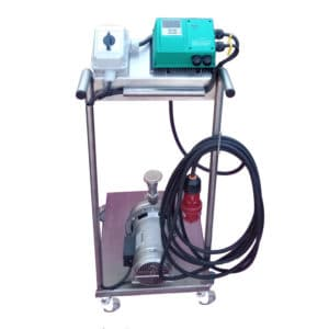 MP-90SC : Mobile centrifugal pump 900W with speed control, Stainless steel
