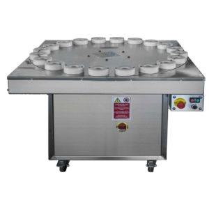 BWB-SA1200 Semiautomatic bottle rinsing machine