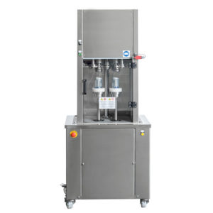CSM-2 : Twin-head cans capping machine